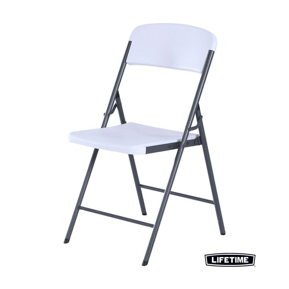 Chaise pliante blanche - LIFETIME - par 6
