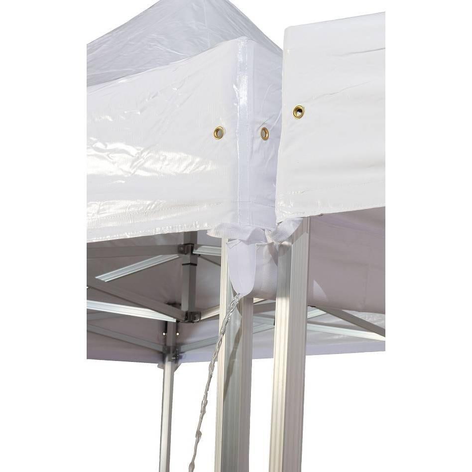 Gouttiere 6.0 m pour tente pliante - par 2 (photo)