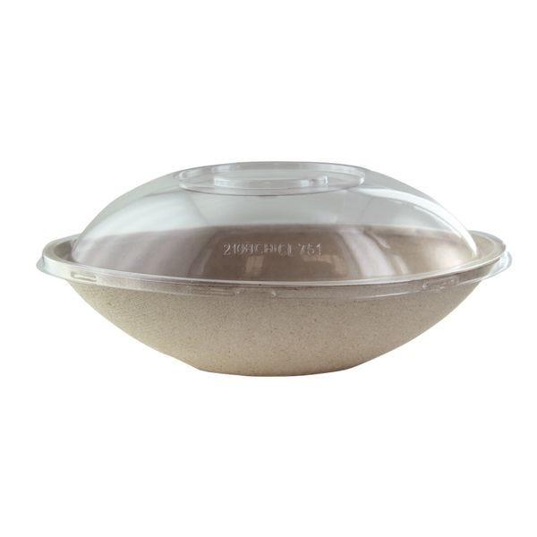 Saladier ovale pulpe 750 ml - par 250 (photo)