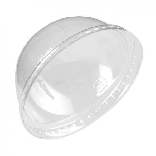 Couvercle dôme pla pour gobelet 23, 35, 45, 56 et 67 cl - par 1000 (photo)