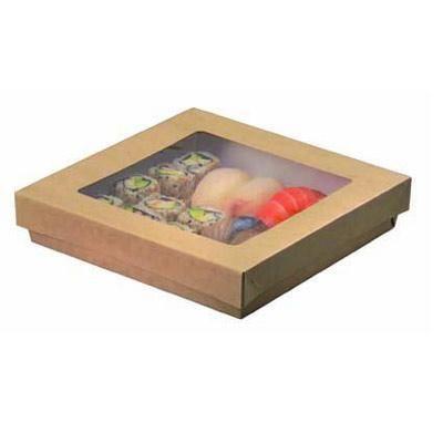 Boîte kray brune 23 x 23 cm - par 100 (photo)