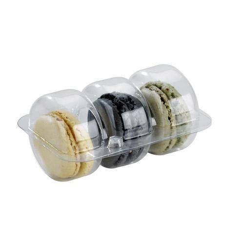 Insert pour 3 macarons - par 300 soit 150 fermés (photo)