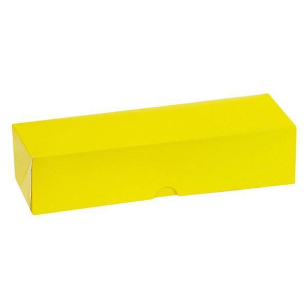 Boite jaune pour insert 7 macarons - par 250 (photo)
