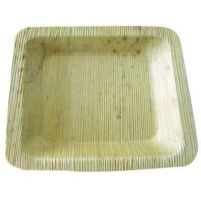 Assiette bambou 20 x 14 cm - par 100 (photo)