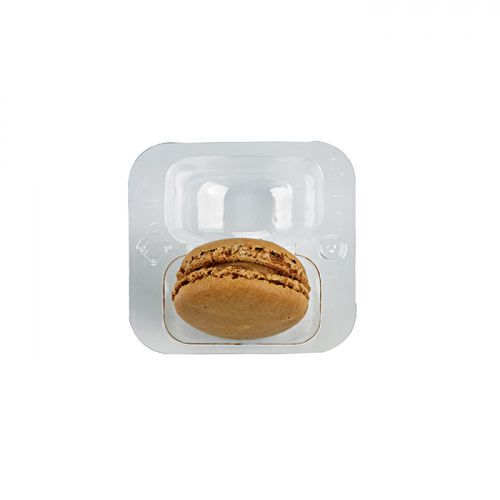 Insert plastique 2 macarons - par 250 (photo)