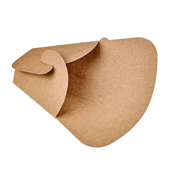 Pochette crêpe papillon kraft brun 150x63x185 mm - par 1000