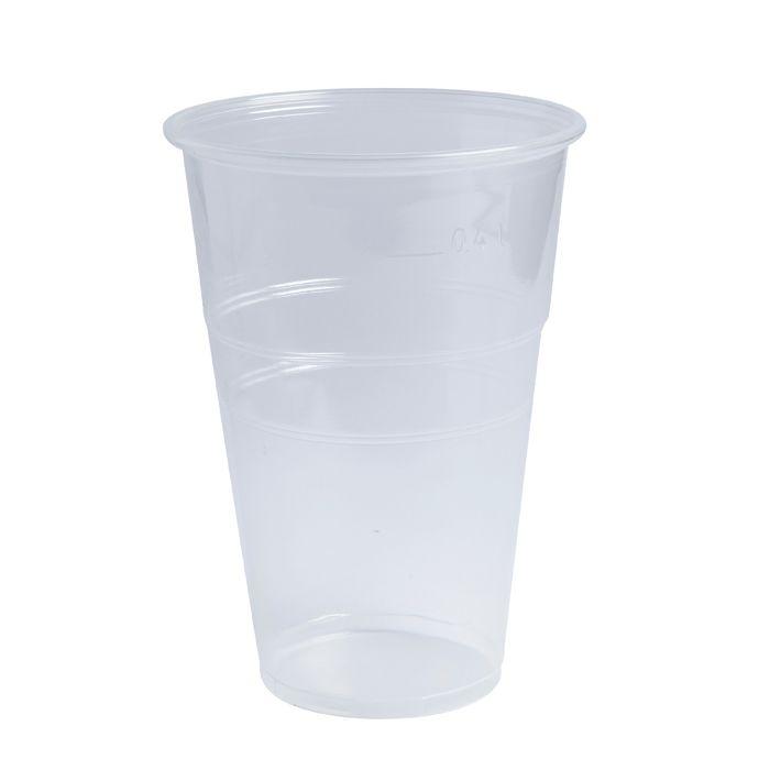 Gobelet plastique pp transparent 270 ml - par 2500