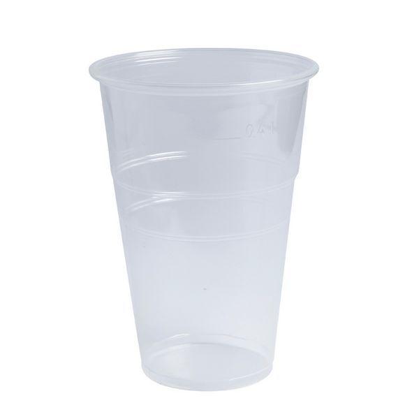 Gobelet plastique pp transparent 570 ml - par 2000
