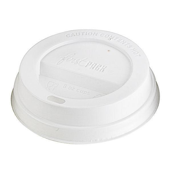 Couvercle dôme ps blanc pour gobelet 8oz - par 1000 (photo)