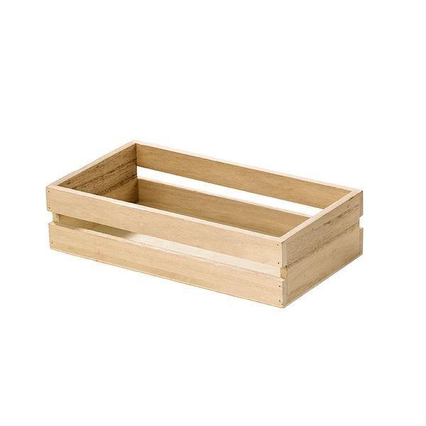 Mini cagette en bois 170x120x90 mm - par 12