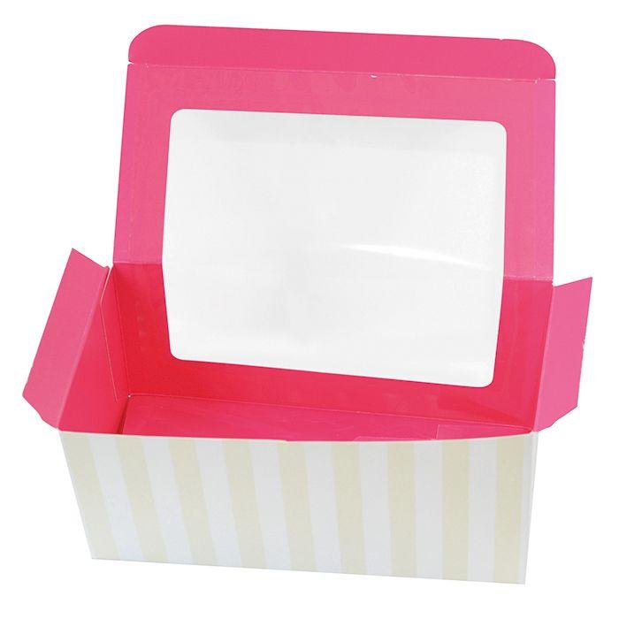 Boîte cupcake rose - par 100 (photo)
