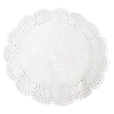 Dentelle papier ronde 12 cm par 250 (photo)