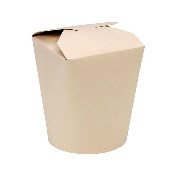 Pot carton fibre de bambou 16oz/500ml - par 500