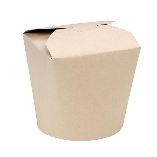 Pot carton fibre de bambou 26oz/750ml - par 500