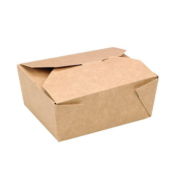 Boîte repas carton kraft 110 x 90 x 50 mm - par 450 (photo)