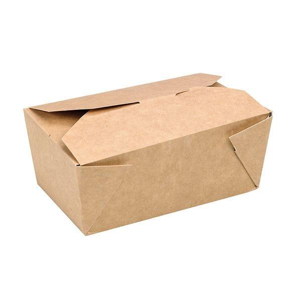 Boîte repas carton kraft 140 x 100 x 50 mm - par 450 (photo)