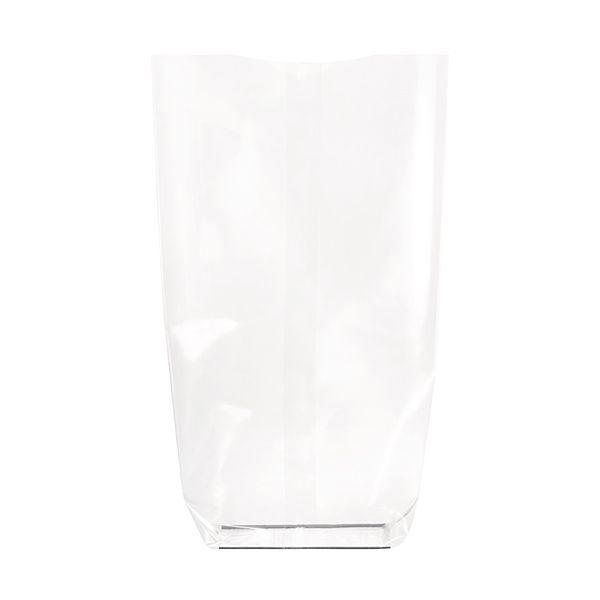 Sac transparentarent fond cartonne biodegradable 100 x 200 mm - par 100 (photo)