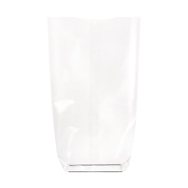 Sac transparent fond cartonne biodégradable 140 x 305 mm - par 100 (photo)