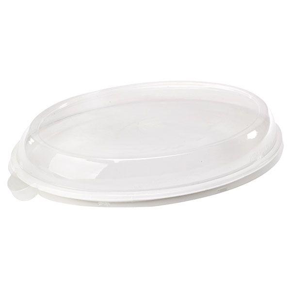 Assiette pulpe ovale 19 x 26 cm - par 25 (photo)