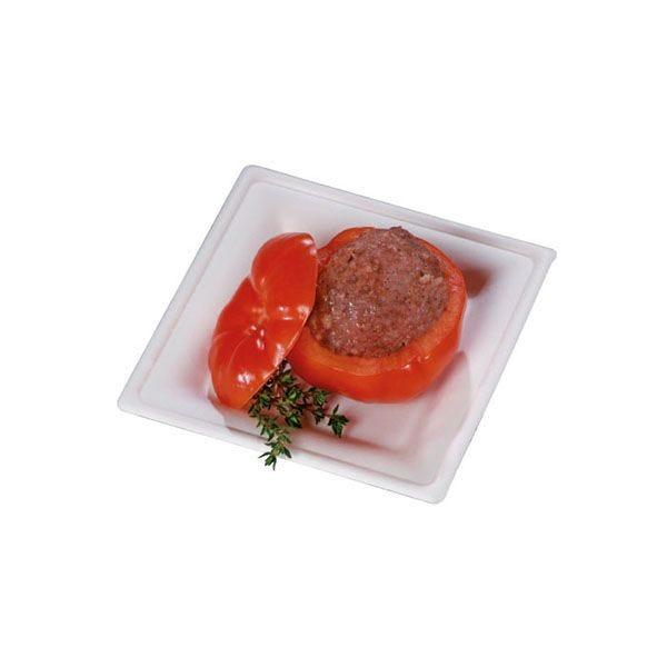 Assiette en pulpe blanche 16 cm - par 50 (photo)
