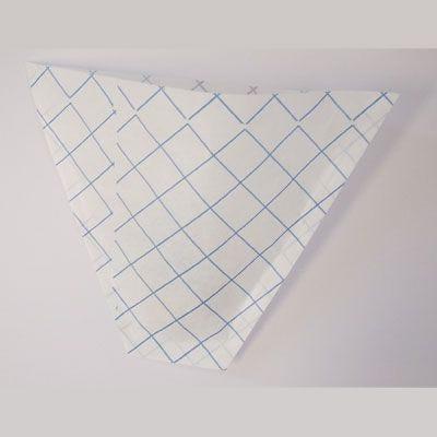 Cornet frites papier 13 x 17 cm par 1000 (photo)
