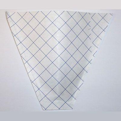 Cornet frites papier 21 x 16,5 cm par 1000 (photo)