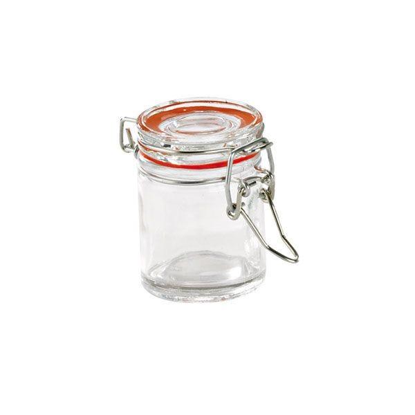 Mini bocal verre 45 ml - par 12
