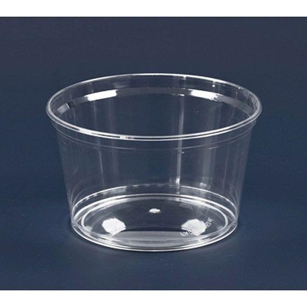 Coupe plastique cristal 350 ml - par 100 (photo)