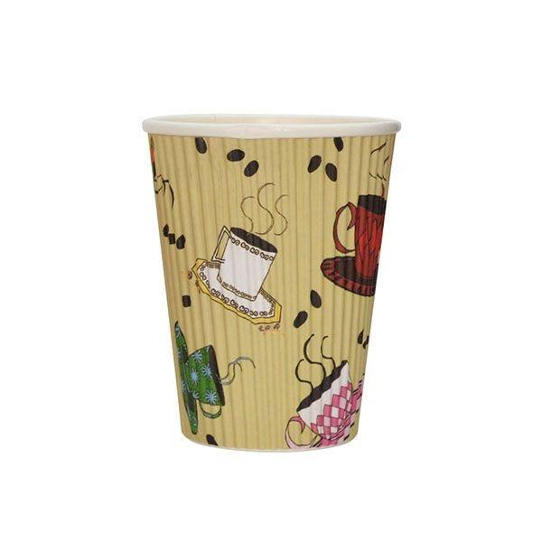 Gobelet carton pour boisson chaude thé café 35 cl - par 500