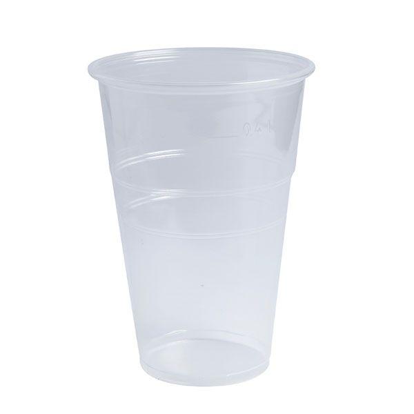 Gobelet plastique pp transparent 570 ml - par 50