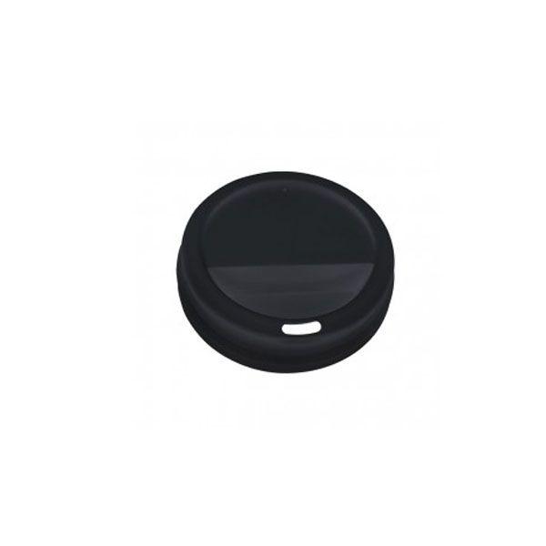 Couvercle dôme noir pour 35 à 45 cl - par 100 (photo)