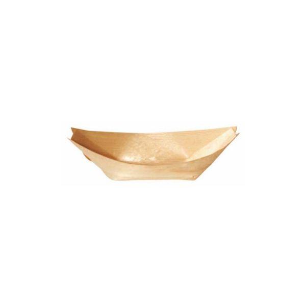 Barquette bateau bois 10,5x7,5x1,6cm - par 800