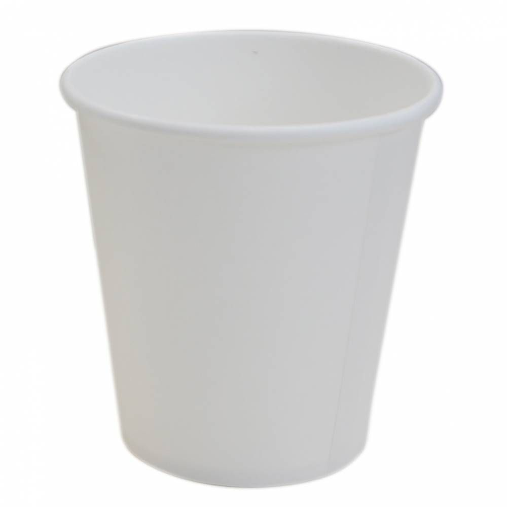 Gobelet 6oz carton blanc -  20 lots de 50