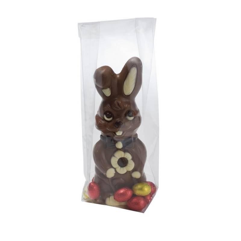 Sachets spécial biscuiterie - confiserie 50µ fond carton modèle 4 - 10 x 100 p.