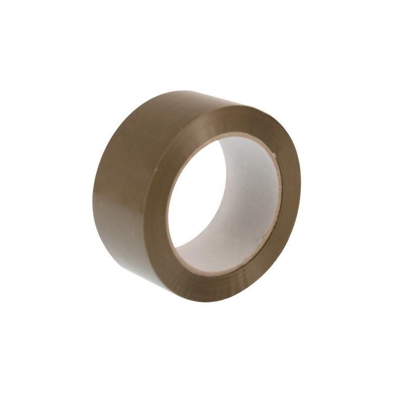 Adhésif polypropylène 48 mm x 100 m havane - 6 paquets de 6 pièces (photo)