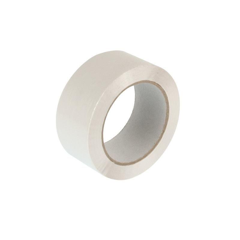 Adhésif polypropylène 48 mm x 100 m blanc - 6 paquets de 6 pièces (photo)