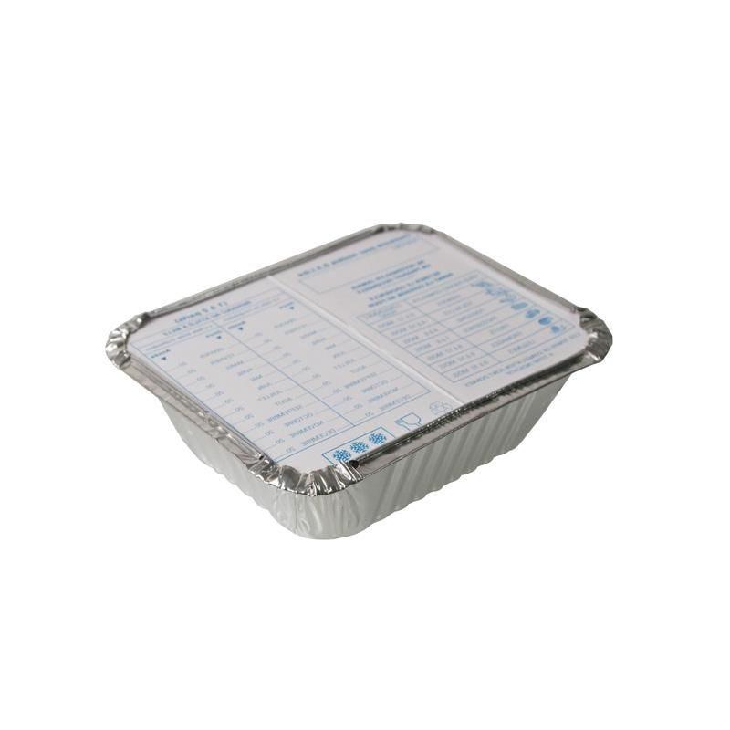 Barquette aluminium 0,5 l - 12 paquets de 5 pièces (photo)