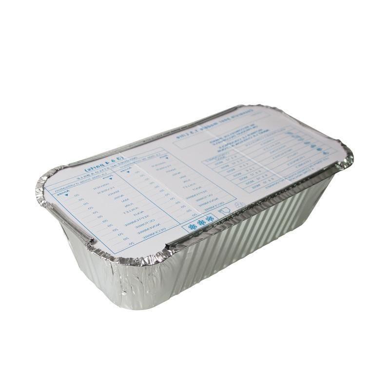 Barquette aluminium 1,5 l - 12 paquets de 5 pièces (photo)