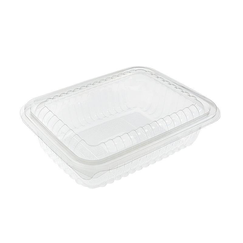 Boîte à couvercle 1500 cc polyéthylène - 6 paquets de 50 pièces (photo)
