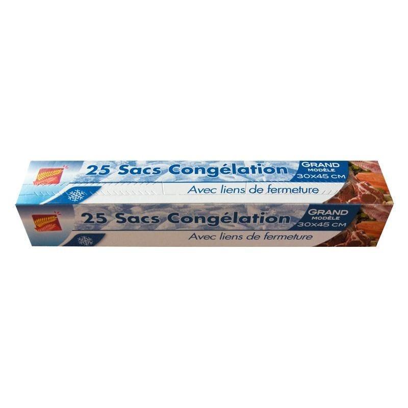 Sac congélation 5 l - 12 paquets de 25 sacs (photo)