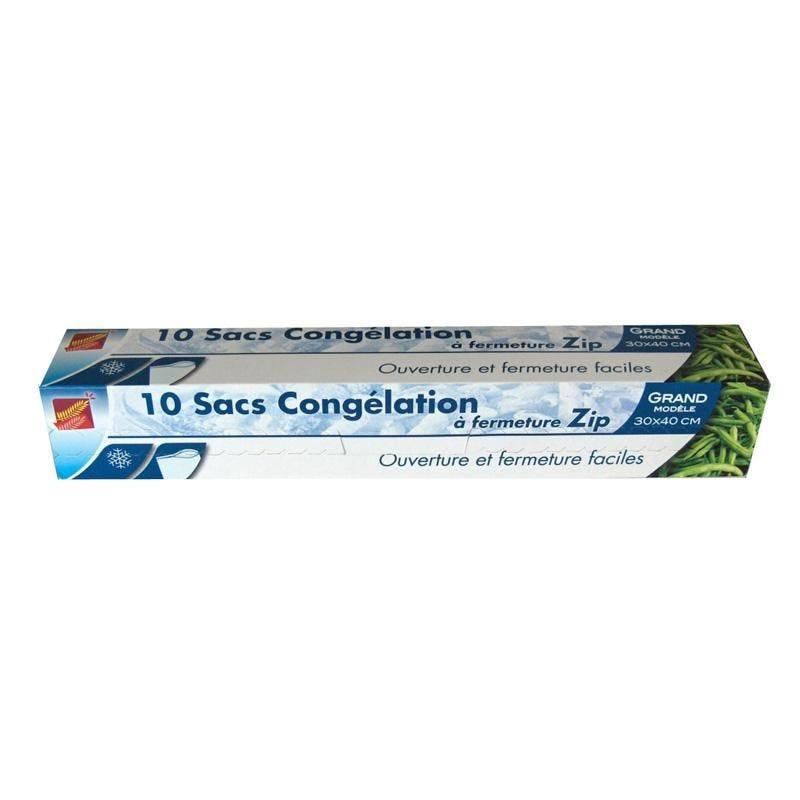 Sac congélation - 30 x 40 cm - 24 paquets de 10 sacs (photo)