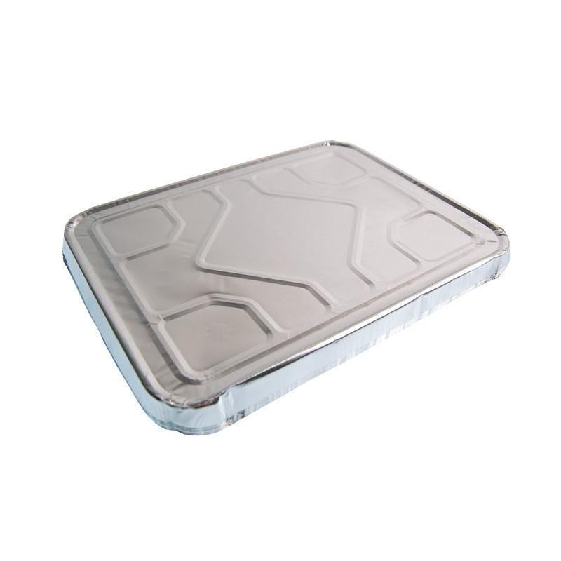 Couvercle préformé aluminium - 5 paquets de 100 pièces (photo)