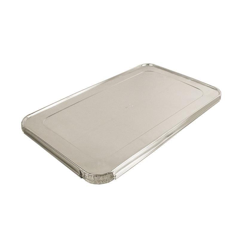 Couvercle préformé aluminium - par 50 pièces (photo)