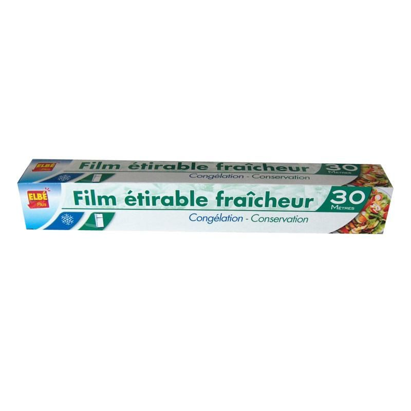 Film alimentaire en rouleau 30 x 0,29 m - par 24 pièces (photo)