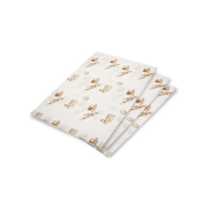 Feuille mousseline passe partout kraft blanc - 20 x 30 cm - par 10 kgs