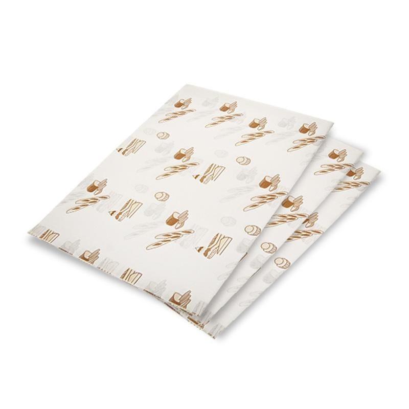 Feuille mousseline passe partout kraft blanc - 40 x 60 cm - par 10 kgs
