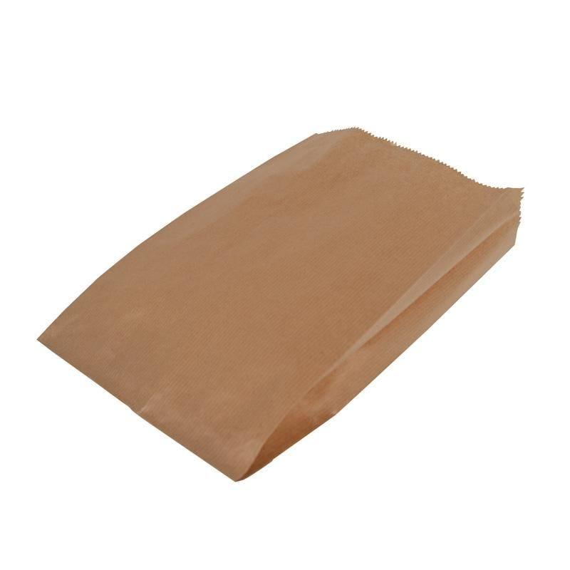 Sac kraft brun 2 pains - 170 + 80 x 520 mm - par 1000 pièces (photo)