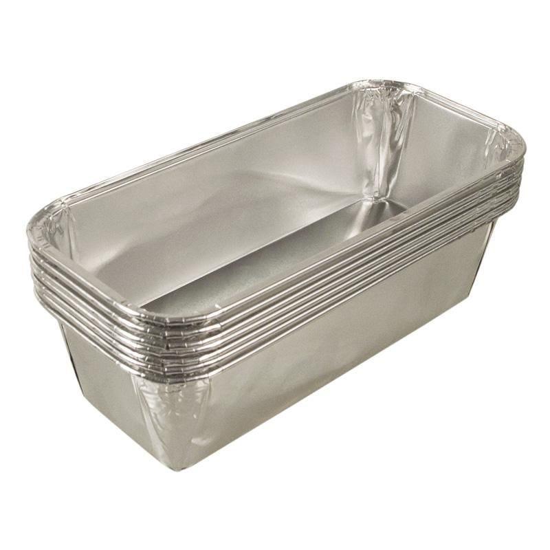 Moule à cake aluminuim 1050 cc - 5 paquets de 100 pièces (photo)