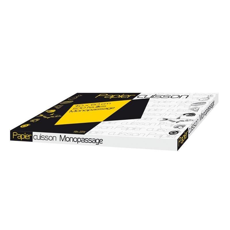 Feuille de papier cuisson mono-passage - 400 x 600 mm - par 500 pièces