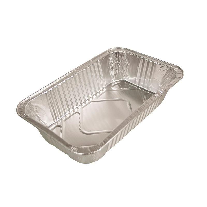 Plat gastronorme aluminium - 3500 cc - 6 paquets de 25 pièces (photo)